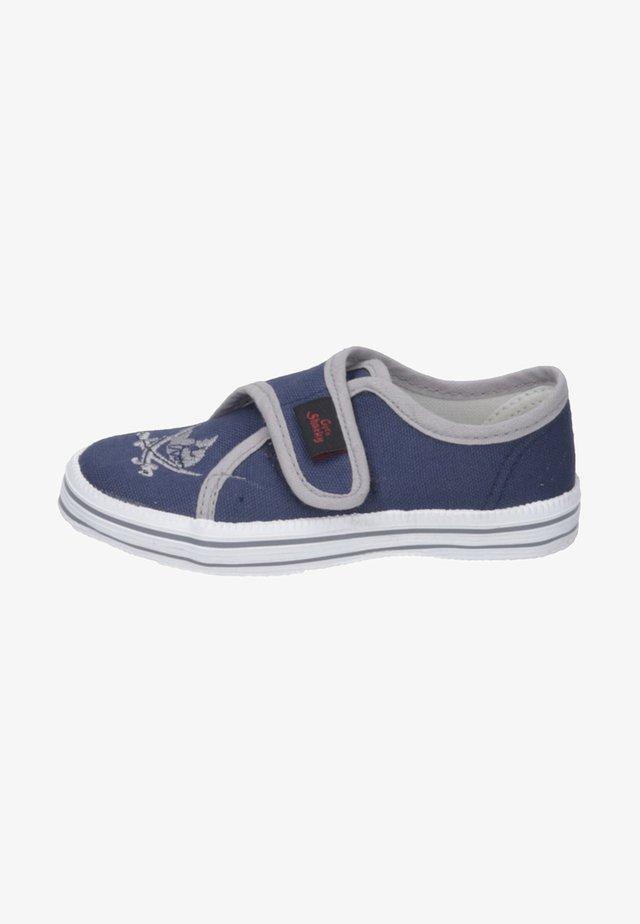 ANTON - Touch-strap shoes - blau/grau