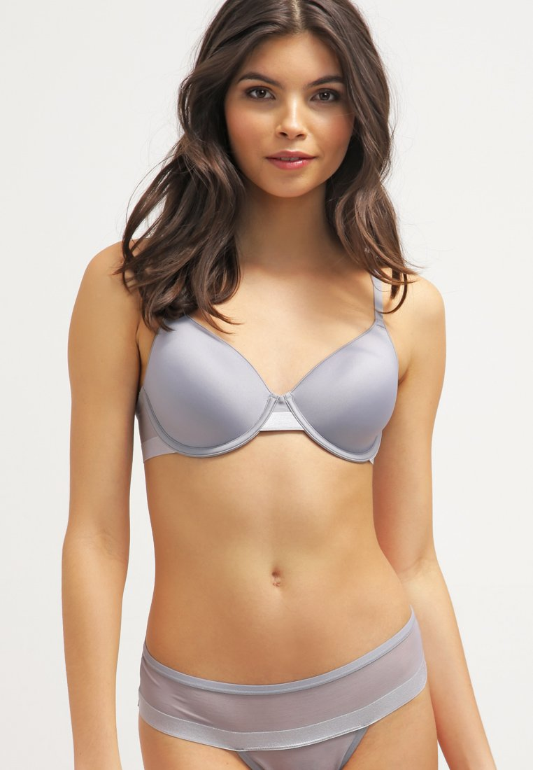 DKNY Intimates - MODERN LIGHTS - T-shirt bra - mid grey
