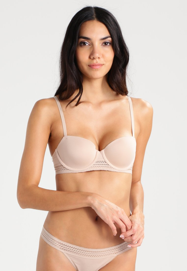 DKNY Intimates - CLASSIC COTTON - Balconette BH - cashmere