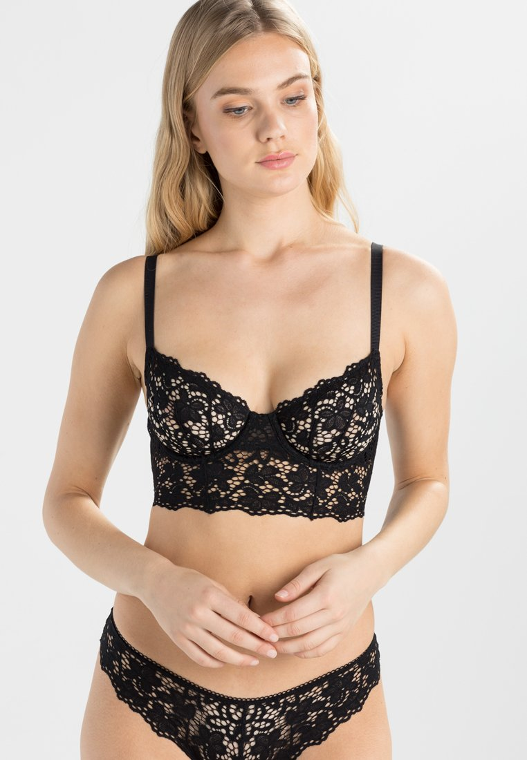 DKNY Intimates - Balconette-BH - black