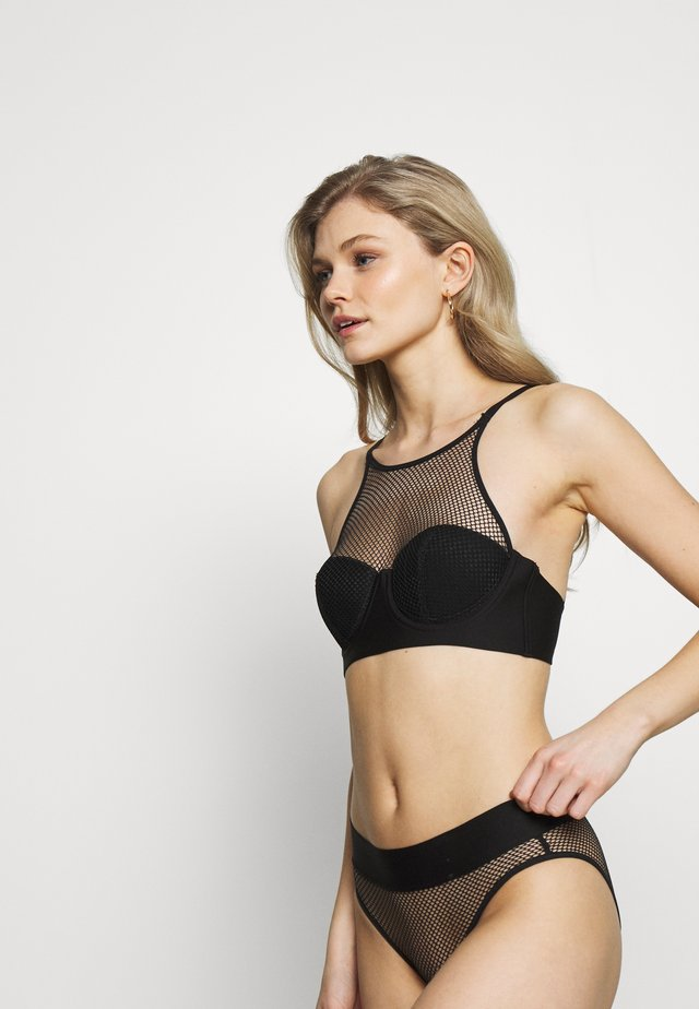 TECH BRA - Bygel-bh - black