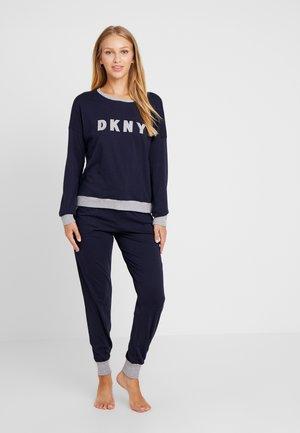 Pyjamas - dark blue/white
