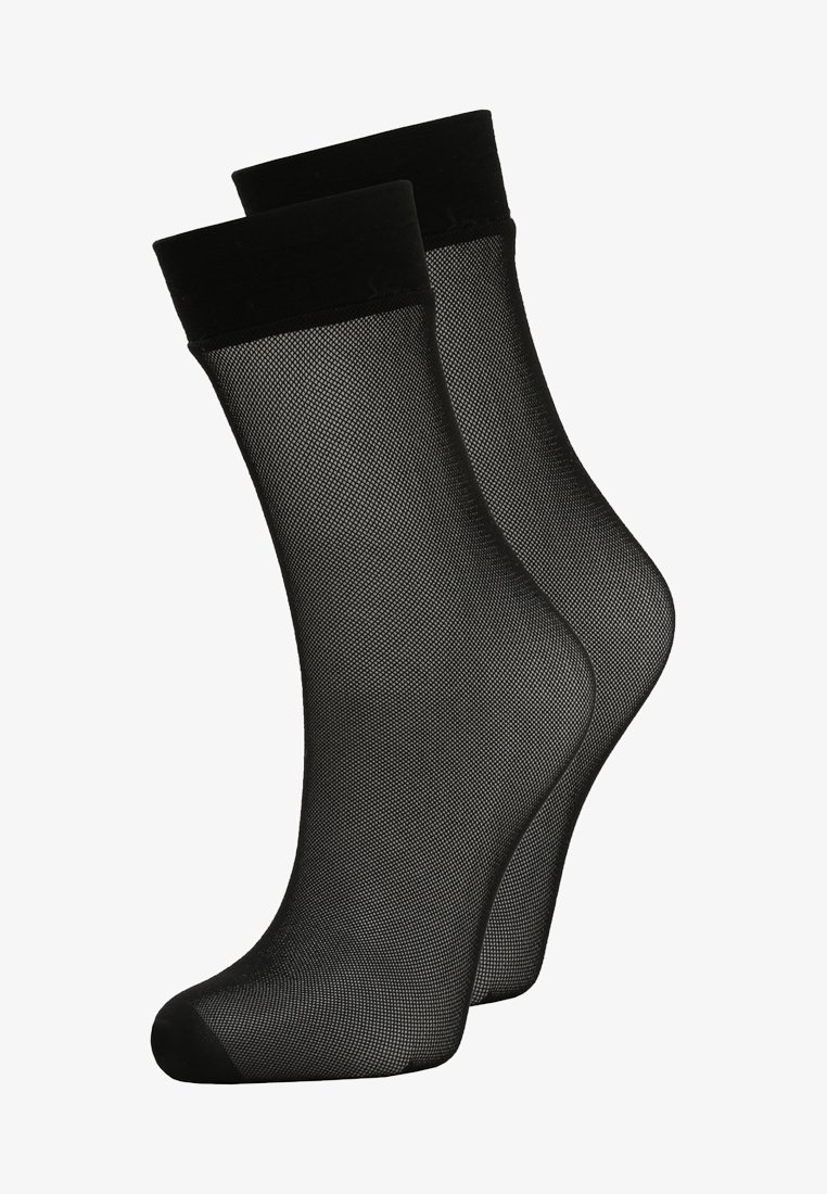 DKNY Intimates - MICRONET 2 PACK - Calcetines - black