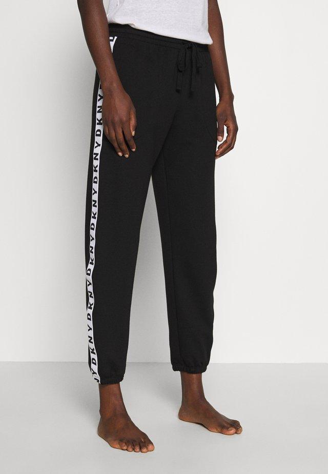 JOGGER - Pyjamasbukse - black