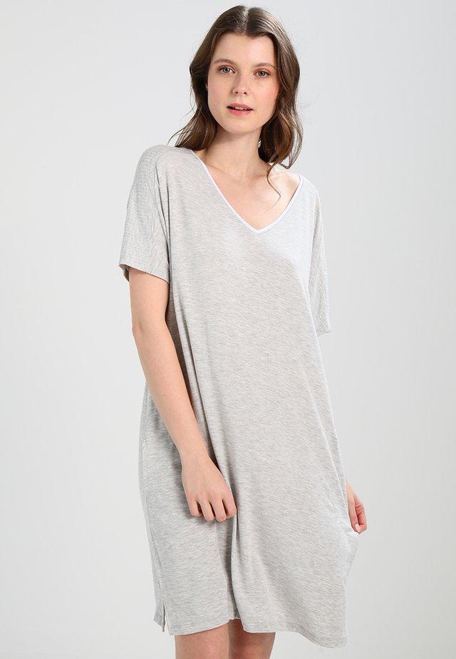 SLEEPSHIRT - Nightie - light grey heather