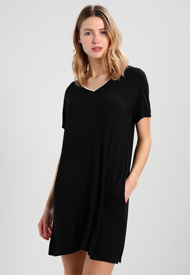 SLEEPSHIRT - Nattlinne - black