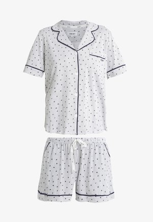 TOP BOXER PJ - Pyjama - winter white