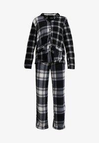 DKNY Intimates - TOO GOOD TO GIVE - Pyžamová sada - black plaid - 4