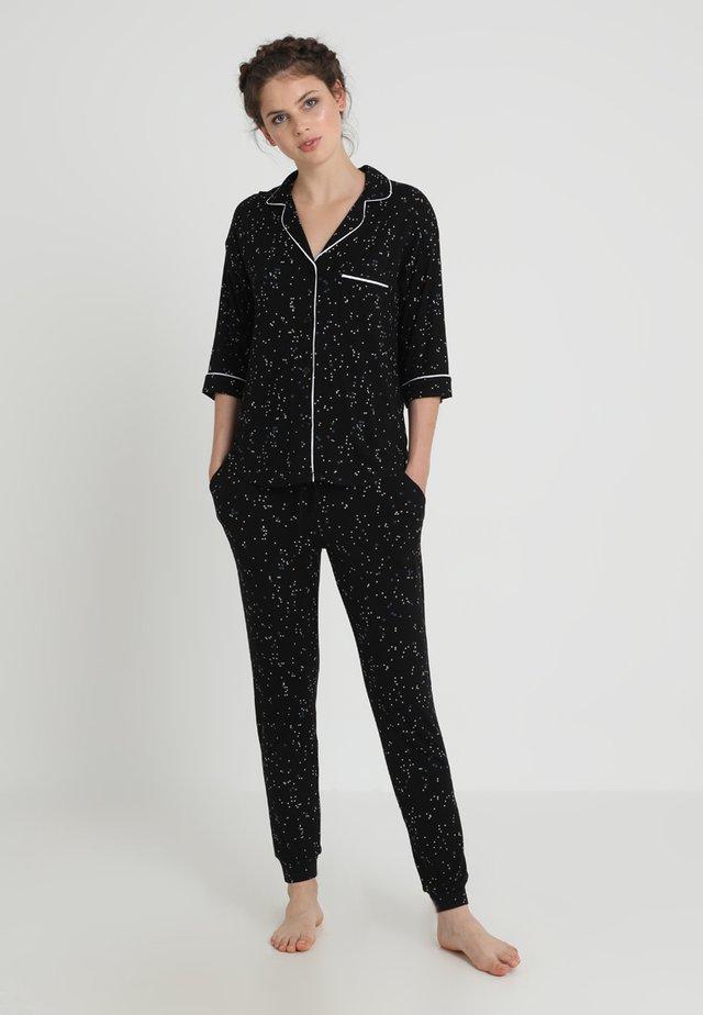 SEEING STARS SET - Pyjama set - black