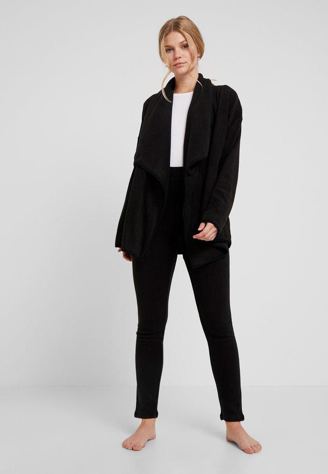 STRETCH TUNIC LEGGING SET - Pyjama - black