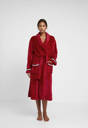 FOLDED ROBE - Dressing gown - red