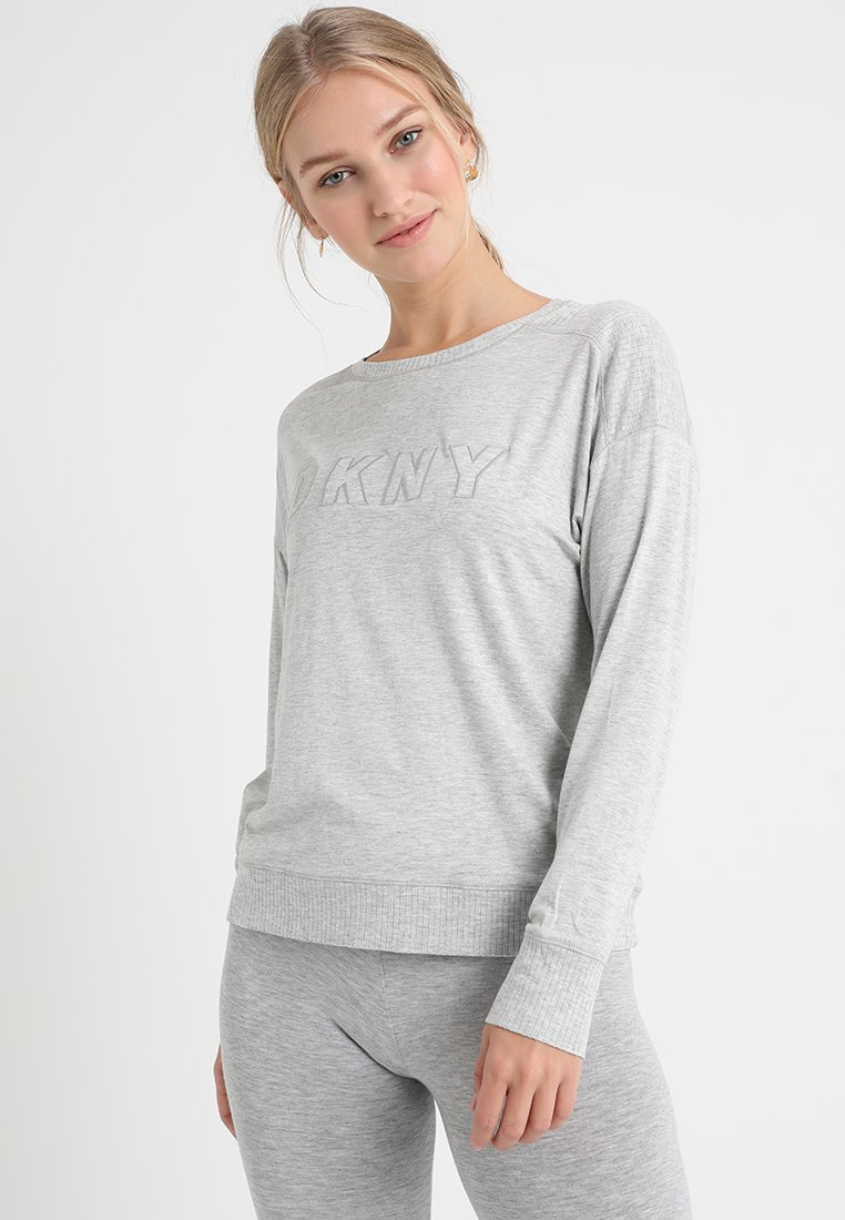 DKNY Intimates - Pyjama top - light grey heather