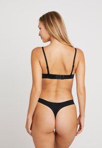DKNY Intimates - LITEWEAR CUT ANYWHERE THONG - Shapewear - black - 2