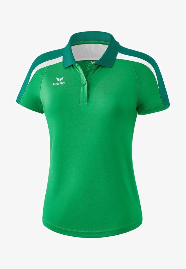 LIGA 2.0 POLOSHIRT DAMEN - Polo shirt - smaragd / grün
