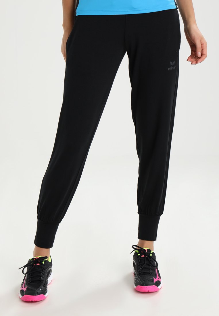 Erima - PANTS - Pantalon de survêtement - black