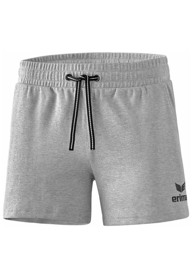 ESSENTIAL SWEATSHORTS DAMEN - Sports shorts - light gray/black