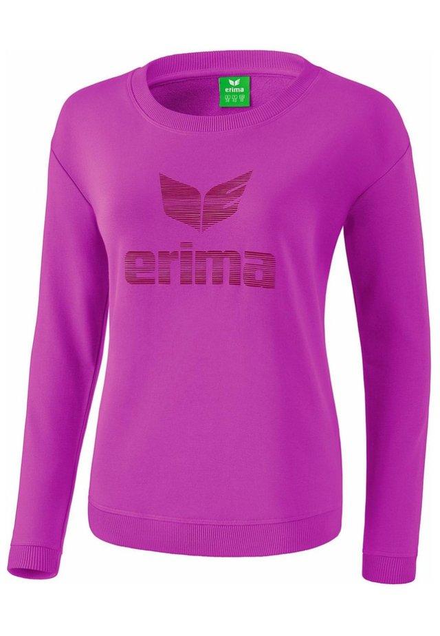 ESSENTIAL SWEATSHIRT DAMEN - Sweatshirt - fuchsia/red