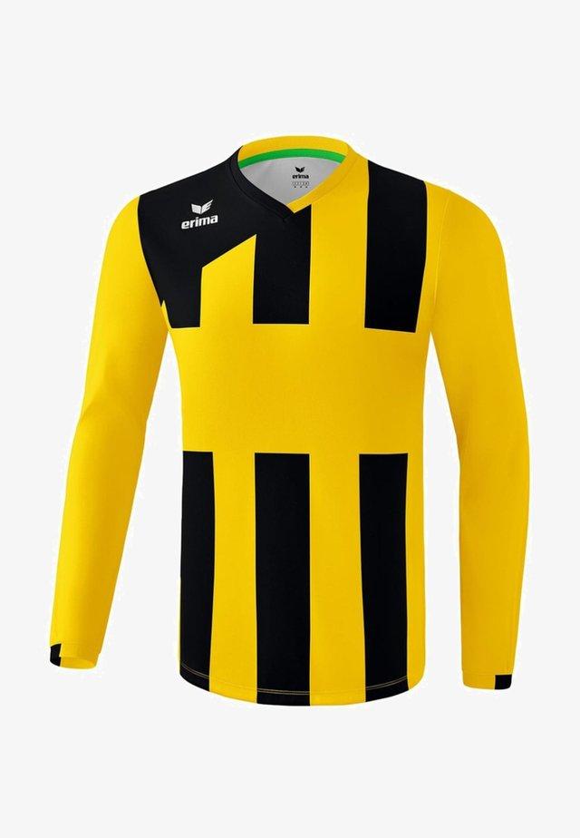 TRIKOT SIENA 3.0 LANGARM KINDER - Funktionsshirt - yellow/black