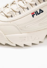 Fila - DISRUPTOR - Sneakers basse - antique white - 2