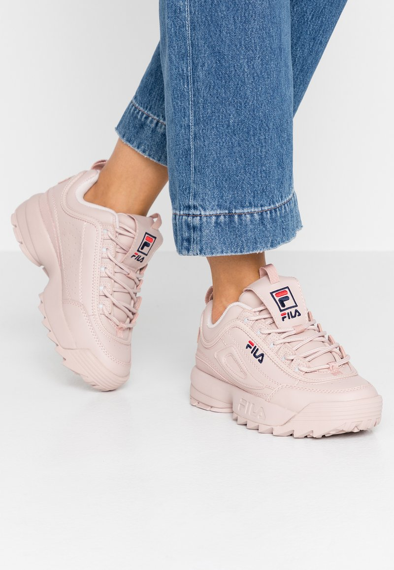 Fila - DISRUPTOR - Sneakersy niskie - rose smoke
