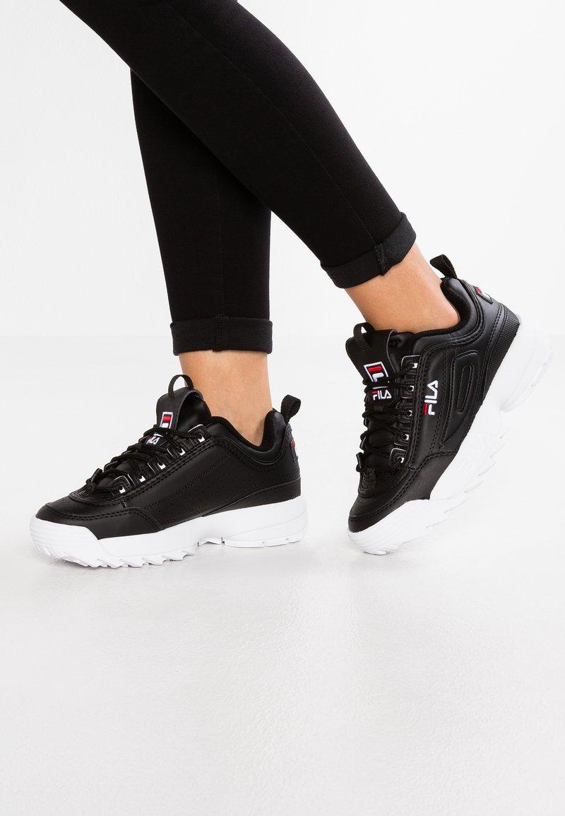 Fila - DISRUPTOR - Sneakers basse - black
