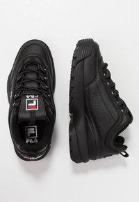 Fila - DISRUPTOR - Baskets basses - black - 3