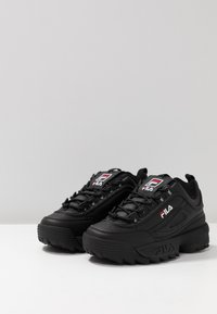 Fila - DISRUPTOR - Baskets basses - black - 4