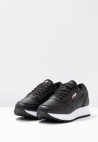 Fila - ORBIT ZEPPA - Sneakersy niskie - black - 4