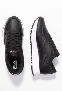 Fila - ORBIT ZEPPA - Sneakersy niskie - black - 3