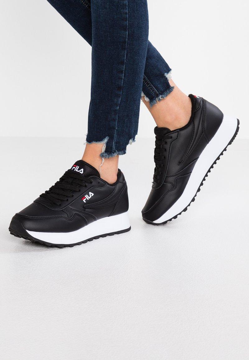 Fila - ORBIT ZEPPA - Sneakersy niskie - black