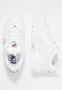 Fila - DISRUPTOR - Trainers - white - 3