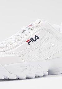 Fila - DISRUPTOR - Trainers - white - 2