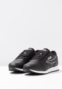 Fila - ORBIT - Sneakersy niskie - black - 4