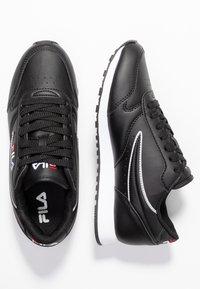 Fila - ORBIT - Sneakersy niskie - black - 3