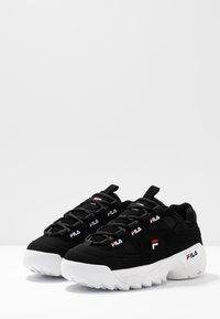 Fila - FORMATION - Tenisky - black/white/red - 4