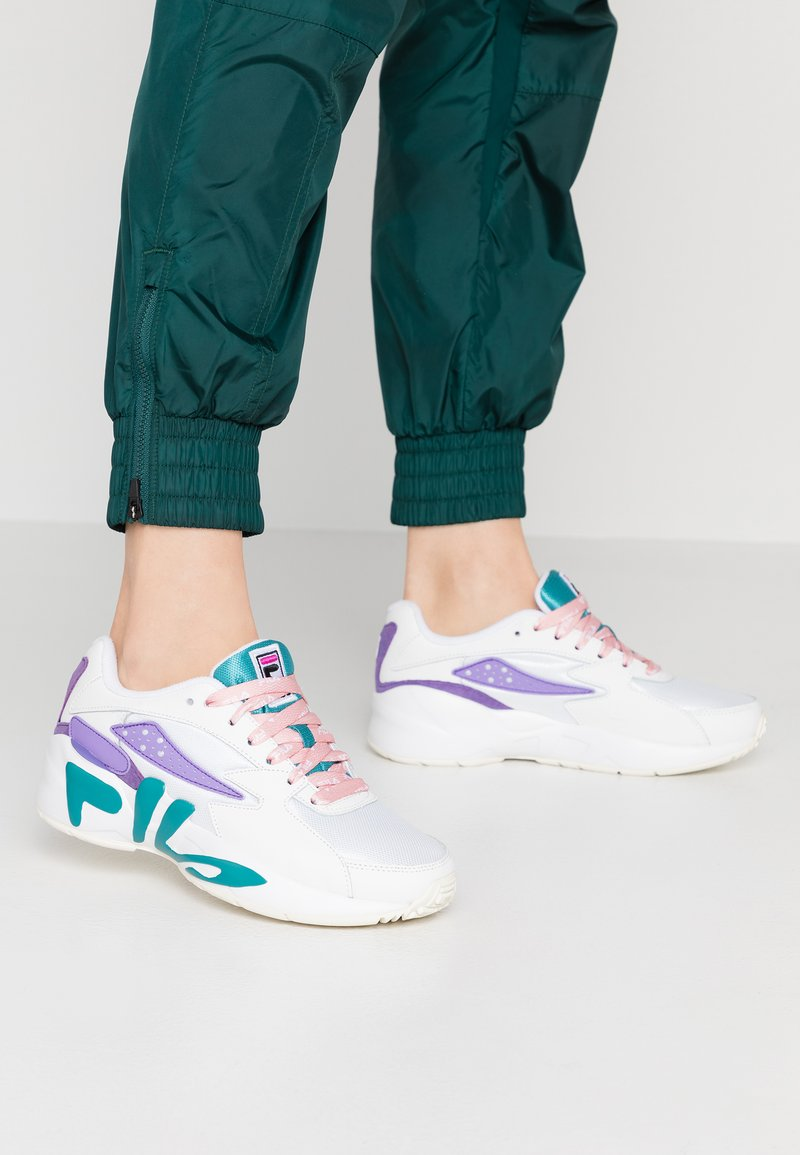 Fila - MINDBLOWER - Trainers - white/caribbean sea
