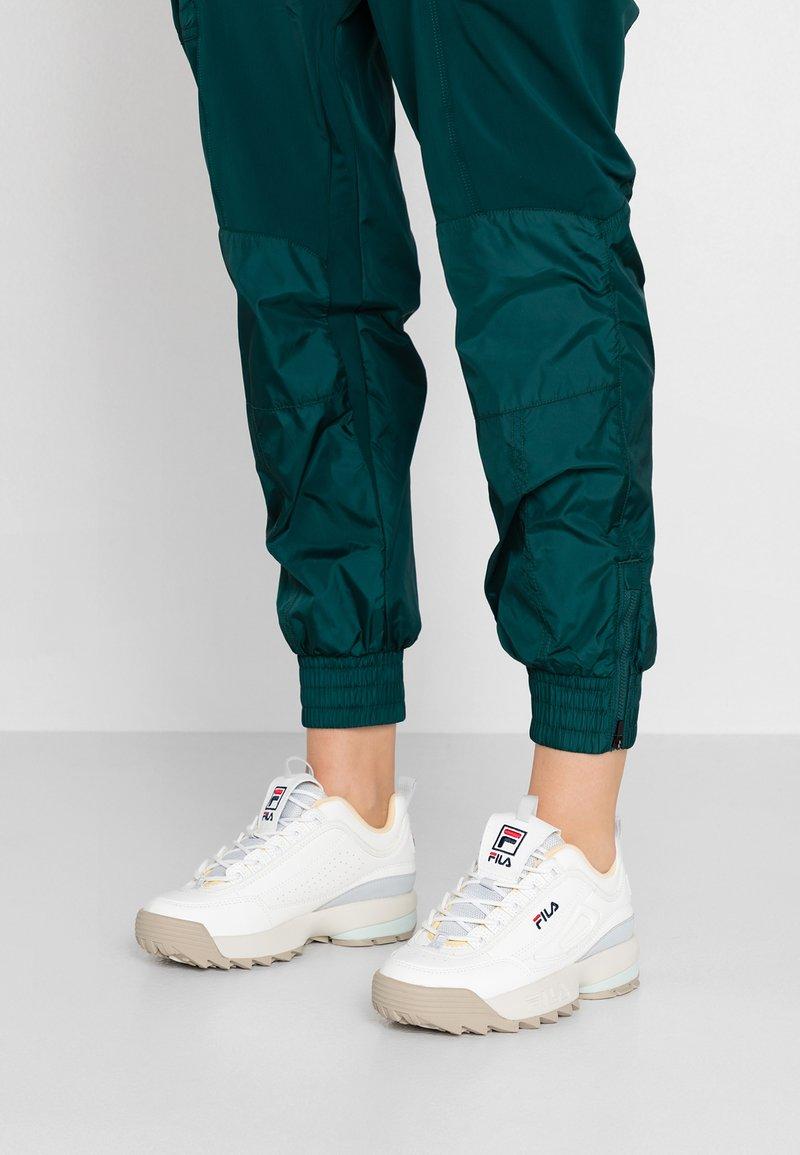 Fila - DISRUPTOR - Sneakers basse - marshmallow/gray violet