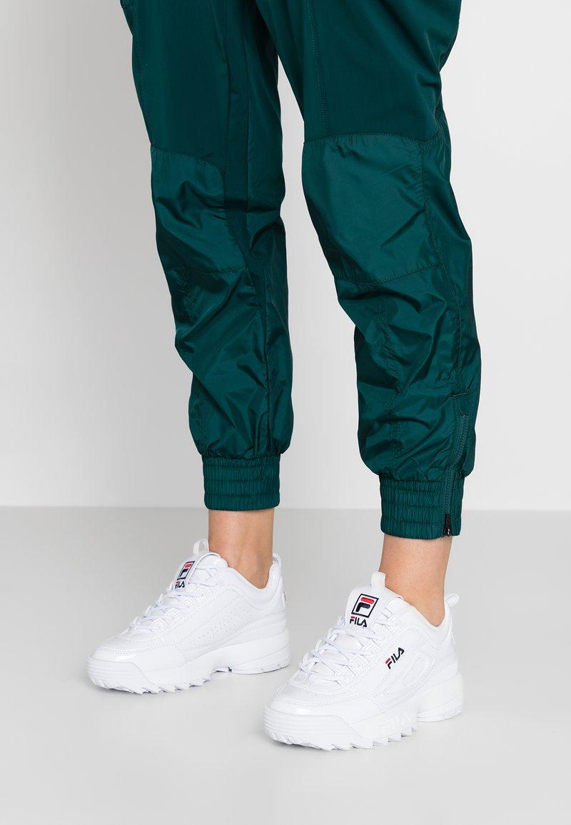 Fila - DISRUPTOR - Sneakers basse - white