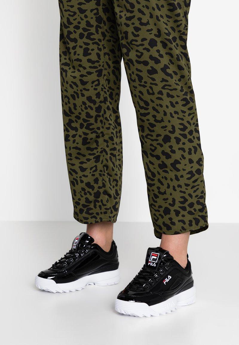 Fila - DISRUPTOR - Sneaker low - black