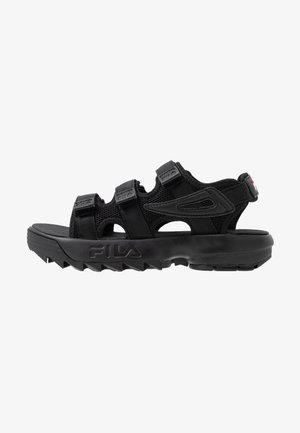 DISRUPTOR - Platform sandals - black