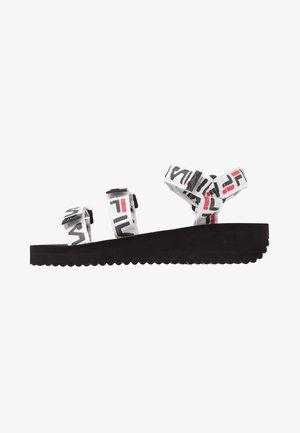 TOMAIA LOGO  - Platform sandals - black