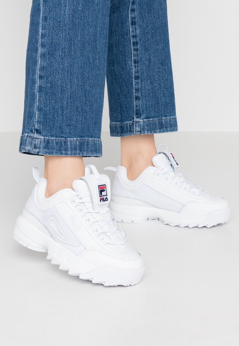 Fila - DISRUPTOR PATCHES - Baskets basses - white