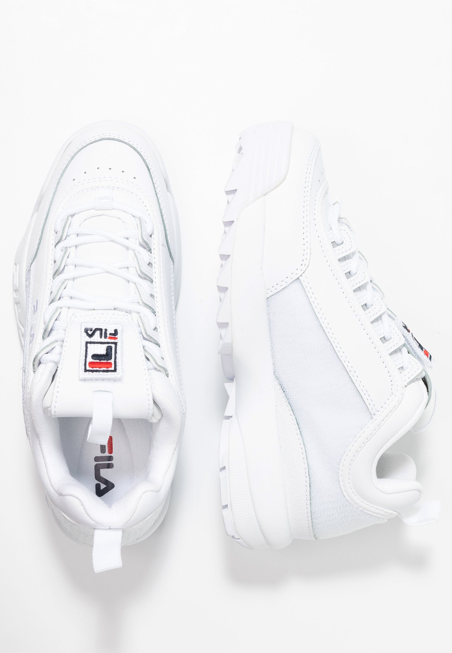 DISRUPTOR PATCHES Baskets basses white