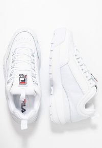 Fila - DISRUPTOR PATCHES - Baskets basses - white - 3