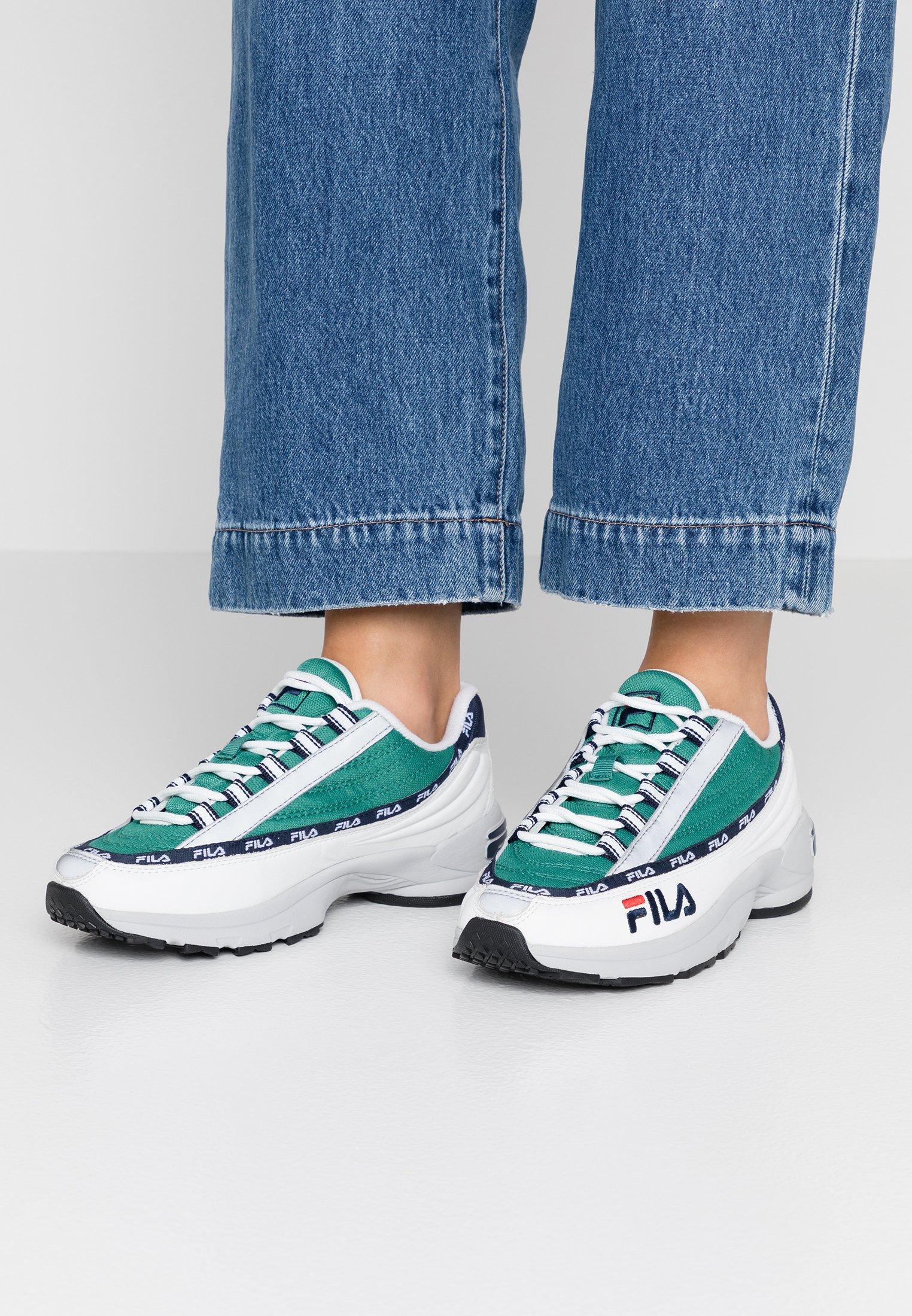 Fila DSTR97 - Sneaker low - white/shady glade