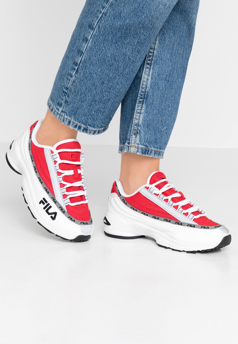 Fila - DSTR97 - Sneaker low - white/red