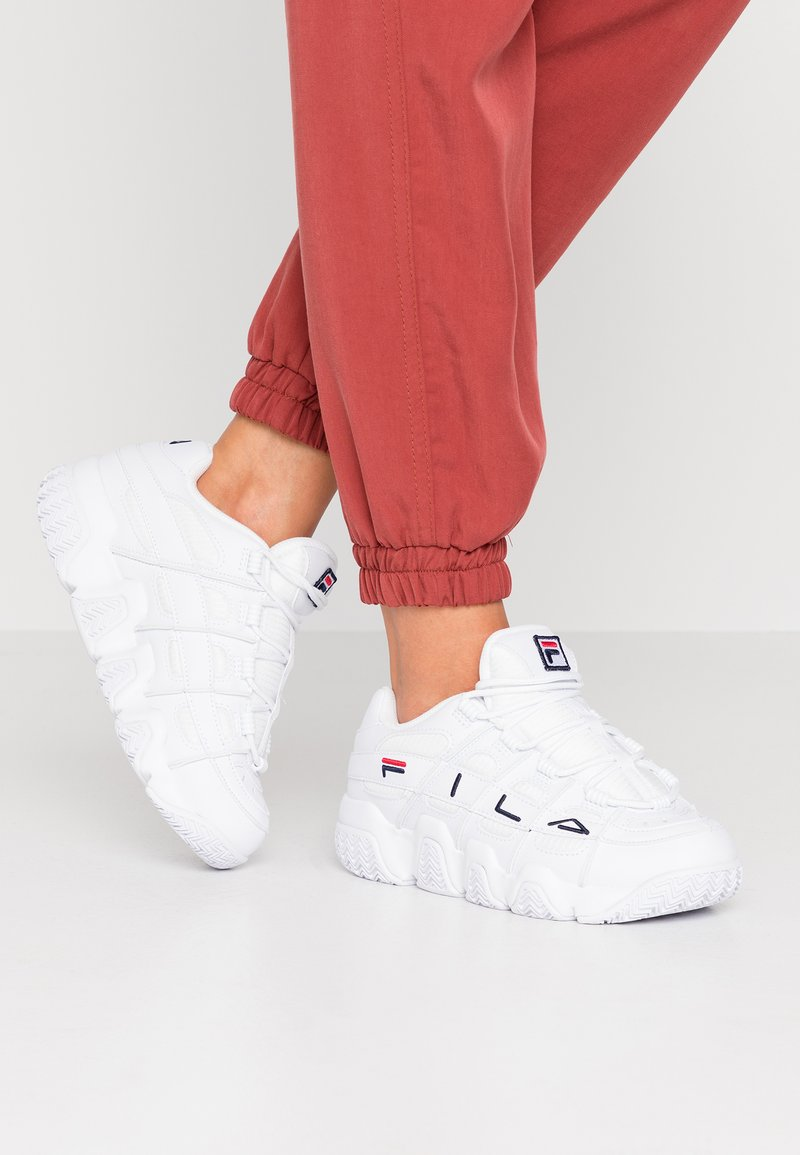 Fila - UPROOT - Baskets basses - white/navy/red