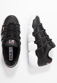 Fila - UPROOT - Tenisky - black/white/red - 3
