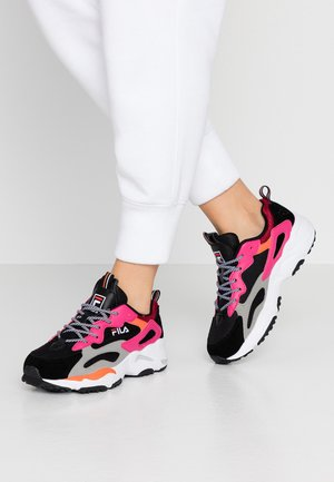 RAY TRACER - Sneakers laag - black/pink/yarrow