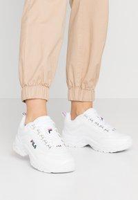 Fila - STRADA - Sneakers - white - 0